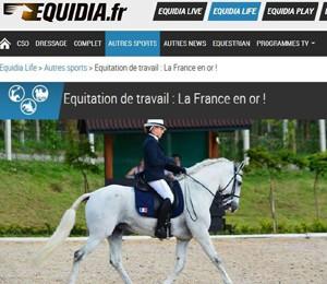 Sur equidia.fr