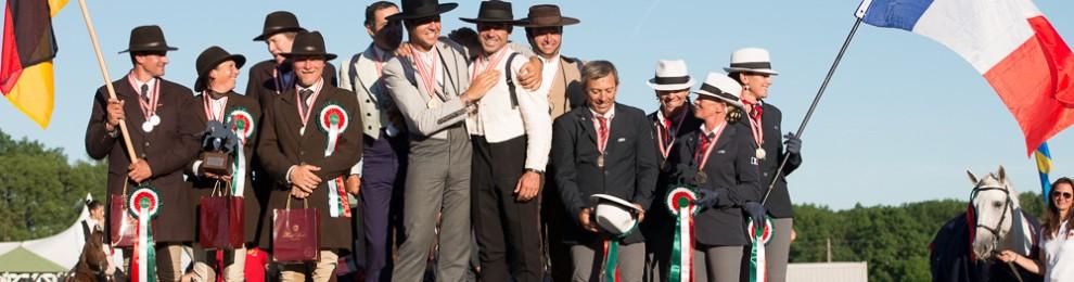 La France médaille de Bronze aux Championnats du Monde de Working Equitation
