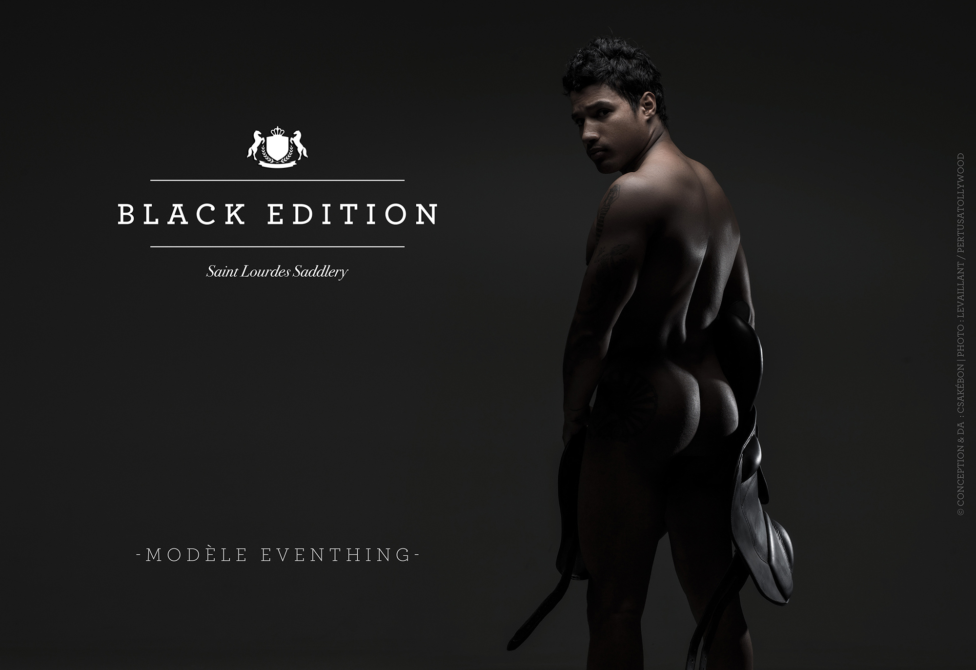 Csakébon - Black Edition - Saint Lourdes Saddlery - All rights reserved