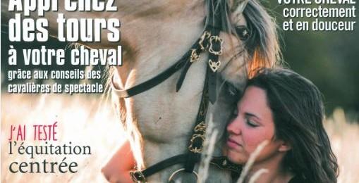 Interview dans le magazine Cavalière